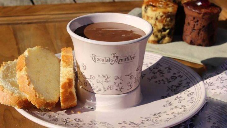 casa Amatller hot chocolate
