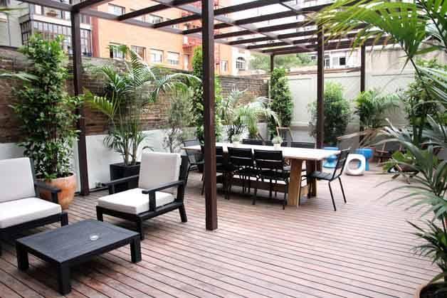 Praktik terrace