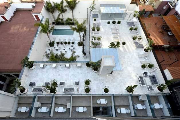 Hotel Indigo terrace
