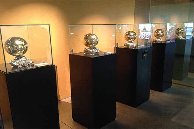 Trophies museum FC Barcelona