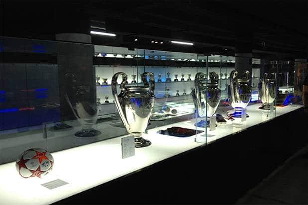 FC Barcelona Camp Nou museum