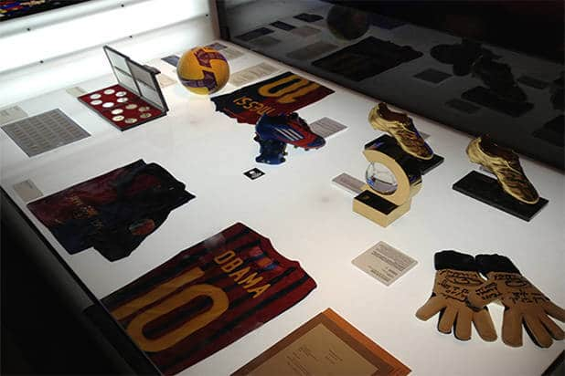 Gallery museum FC Barcelona