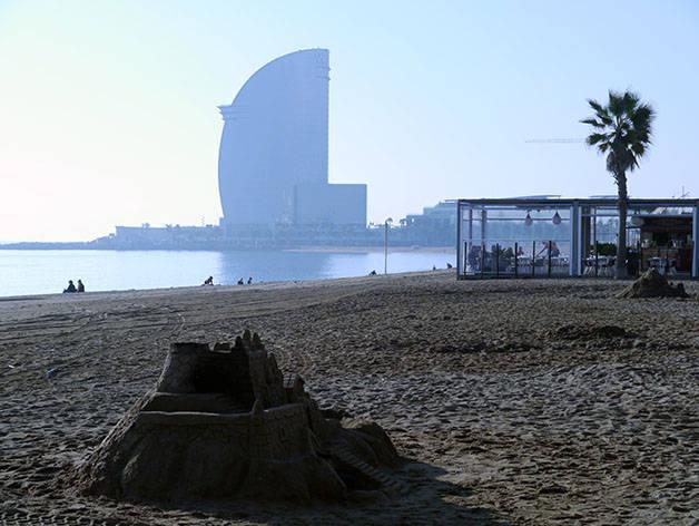weather barcelona winter