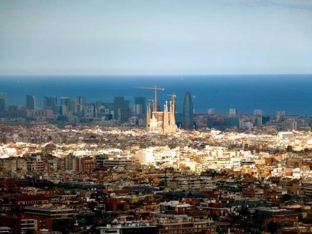 carretera de les aigues panorama barcelona