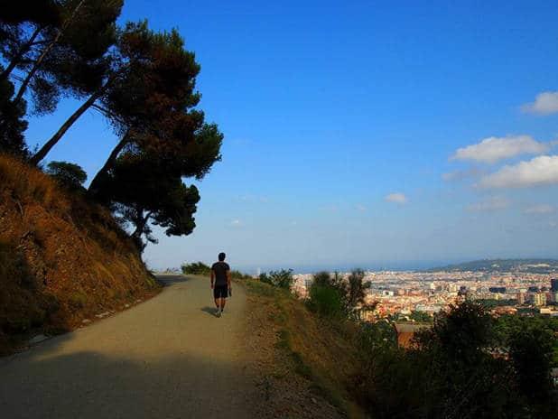 carretera de les aigües: sport and nature