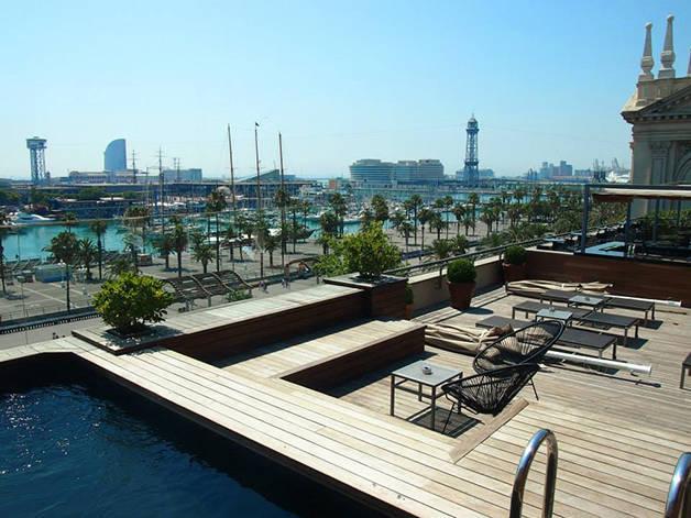 hotel terraces: Duquesa de Cardona