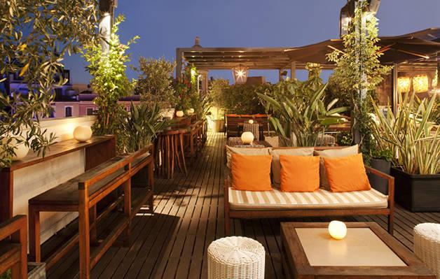 hotel terraces: hotel pulitzer