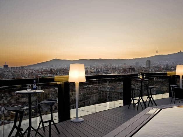 hotel terraces :barcelo raval