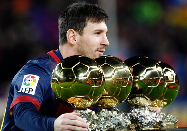 messi golden ball