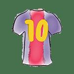 jersey barça-10