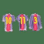 jerseys barça 10 11 3