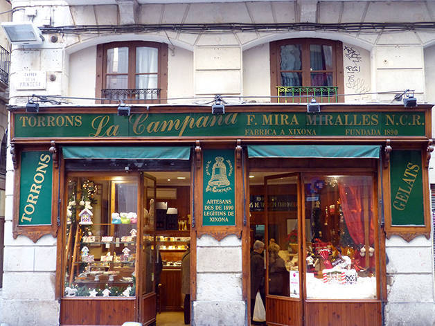 torrons campana oldest shops