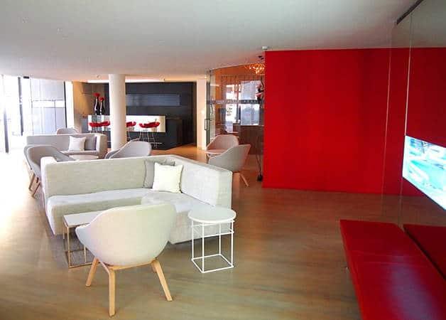 Hotel Cram lounge