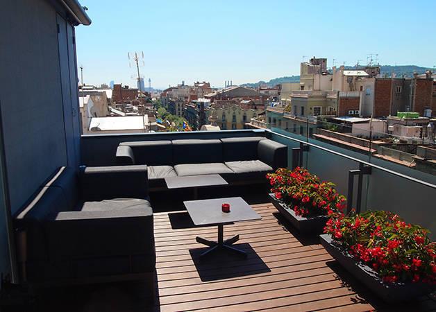 Hotel Cram terrace