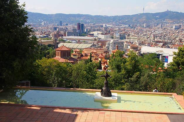 foundation miro view of Barcelona
