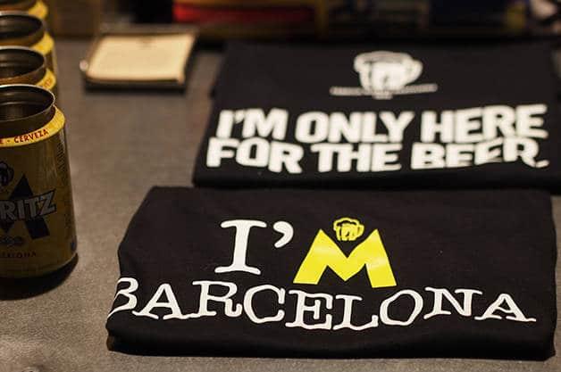 moritz store t-shirt Barcelona