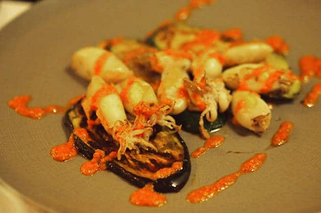 restaurant market calamari