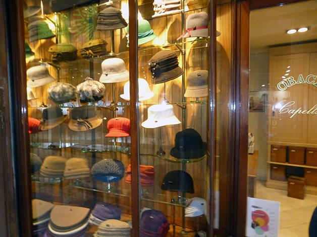 Obach iconic hat shop