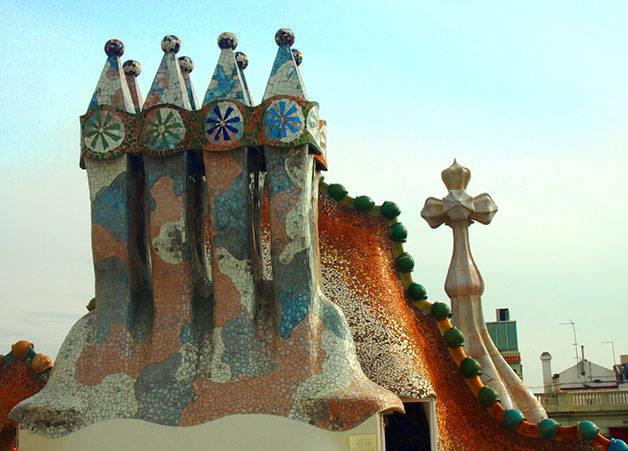 Chimneys Casa Batlló