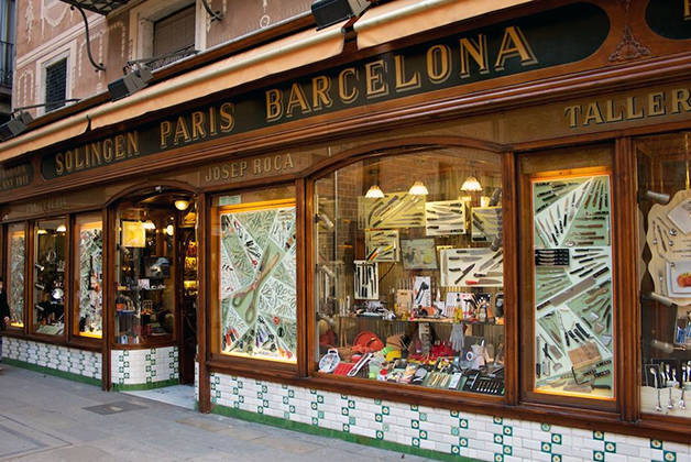 ganiveteria roca iconic shops