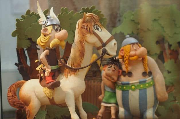 Asterix chocolate museum
