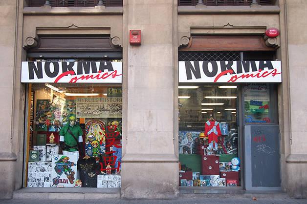 norma comics bookshop