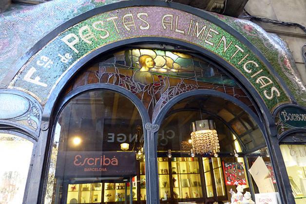 pastisseria Escribà iconic shops