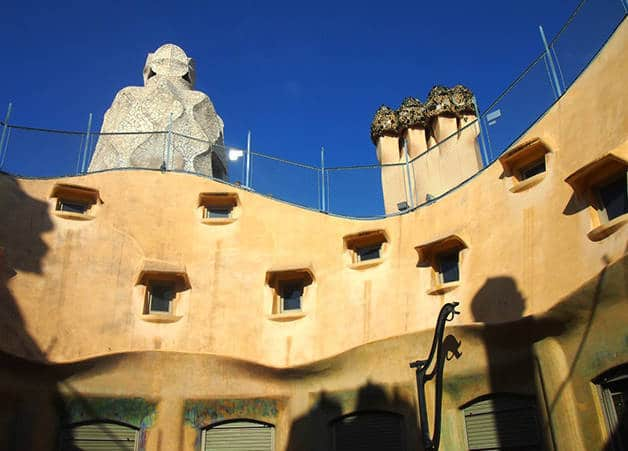 Chimneys La Pedrera