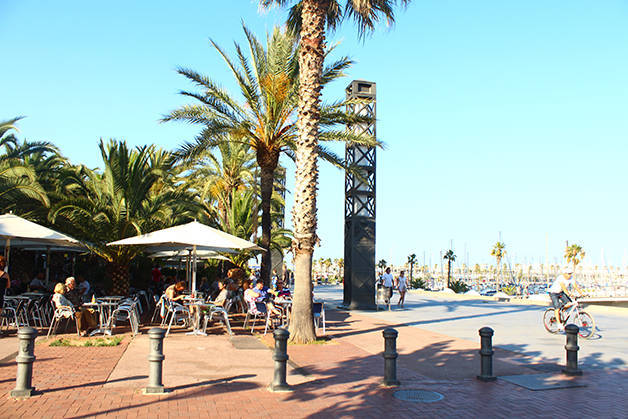 barceloneta olympic port