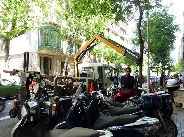 motorbike impound