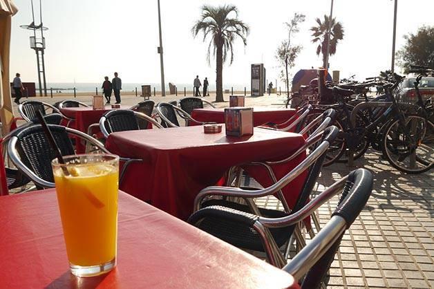 sunny terrace santa marta