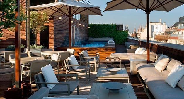 Barcelona terrace week: Omm Hotel