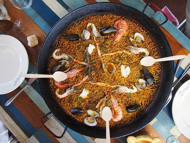 paella foodie weekend