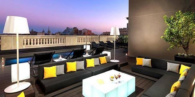 Barcelona terrace week view