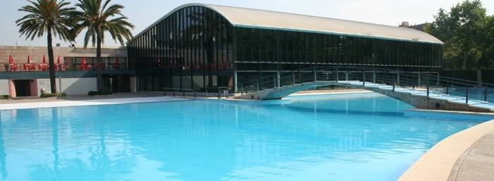open-air pools in Barcelona, can drago