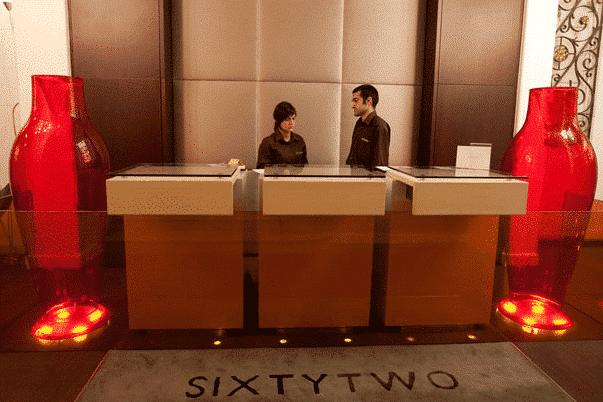 hotel sixtytwo reception passeig de gracia