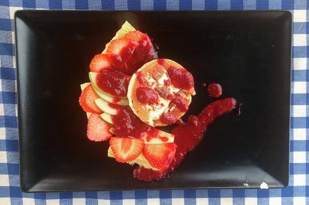 blue beach bar fruit salad