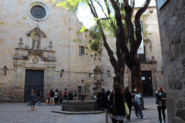 barri gotic plaça Sant Felip Neri