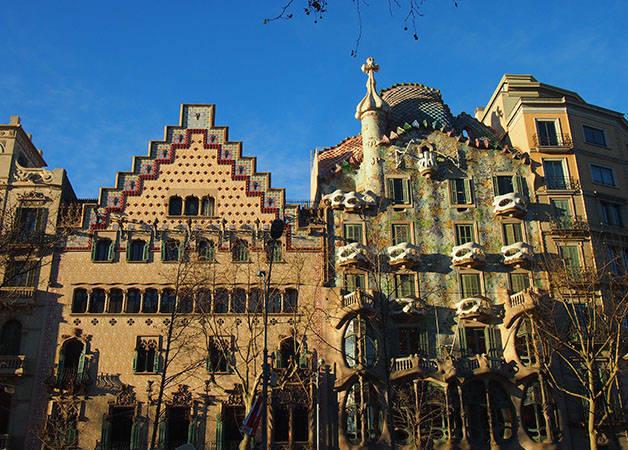 casa batllo and casa Amatller Art nouveau and history Barcelona