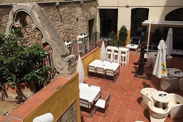 hidden terraces: petit palace opera garden