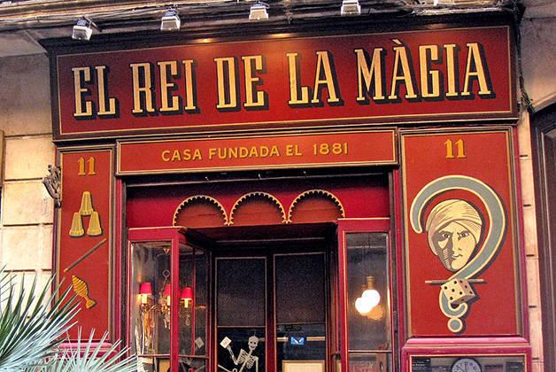 rei de la màgia Barcelona history weekend
