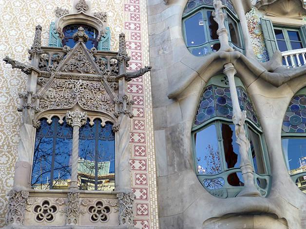 detail facades