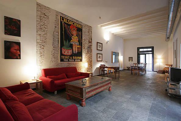 trocmaison apartment exchange living room