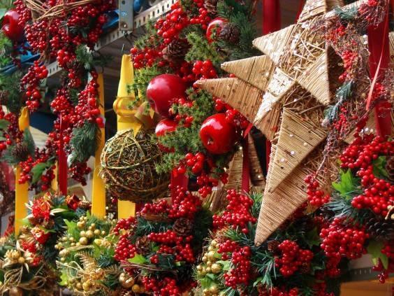 Christmas market Barcelona November