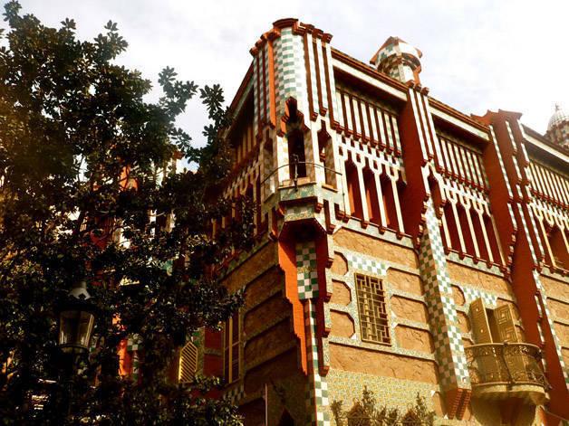 casa vicens Gaudí Gràcia free activities