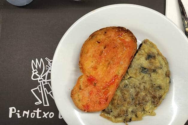 breakfast pinotxo