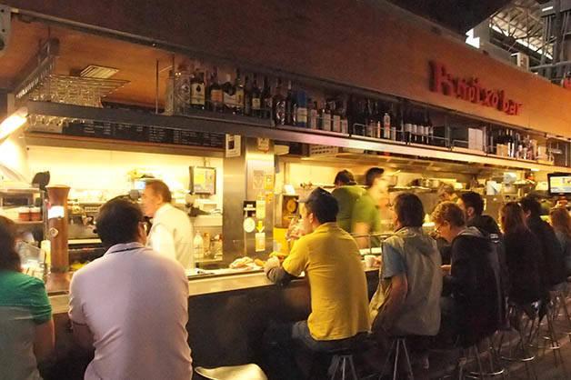 pinotxo bar breakfast