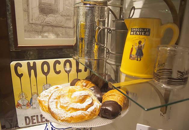 dulcinea pastries hot chocolate