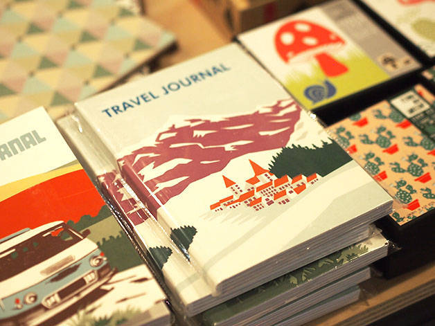 grey street travel journals