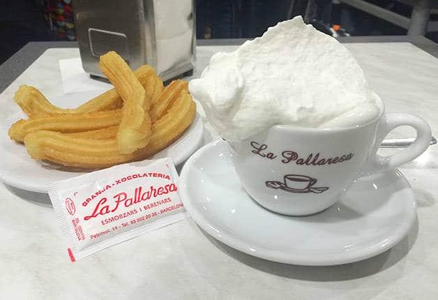 pallaresa hot chocolate